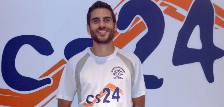 Víctor Ortega, jugador del CBS-CS24.