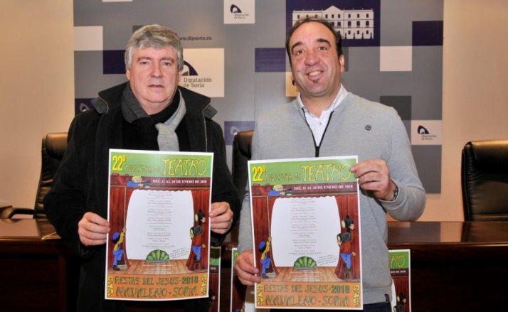 Paulino Herrero y Jesús Javier Andrés, en la presentación del Certamen./Foto: V.G.