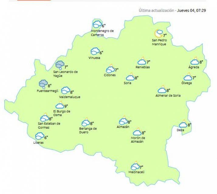 Mapa de eltiempo.es