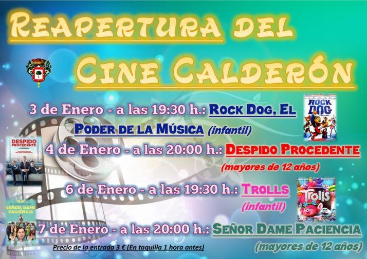 Reapertura del Cine Calderón
