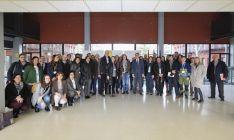 Foto 3 - La Junta muestra el potencial innovador de la Incubadora de Empresas Biotecnológicas a sus socios europeos