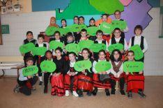 Una imagen del carnaval en el colegio. /FdR
