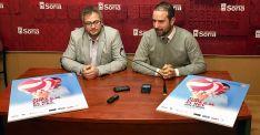 Alfredo Cabrerizo (izda.) y Ángel Hernández en la presentación del torneo.