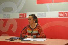Virginia Barcones, vicesecretaria regional del PSOE.