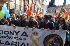 Foto 3 - Setecientas personas reclaman en Soria la equiparación salarial de policías y guardias civiles