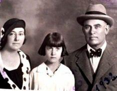 La familia Romero García en 1932. /ASRD