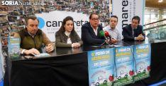 Víctor Mateo (izda.), Laura Morón, Jesús Moya, Eduardo Madurga y Félix Sanz este jueves. /SN