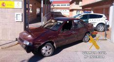 El vehículo utilizado para los robos. /GC