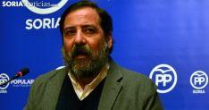 José Manuel Hernando, concejal del PP en el Ayuntamiento de Soria, este miércoles. /SN