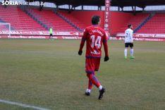 Numancia-Burgos CF en Los Pajaritos. Bernat Díez
