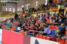 El Unicaja Almería destrozó (0-3) al Urbia Voley Palma en las primeras semifinales de la Copa del Rey en Soria. Bernat Díez.