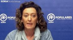 María Pérez, del Grupo Popular. /SN