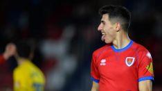 El gol de Pere Milla ante el Cádiz en Los Pajaritos. LaLiga.