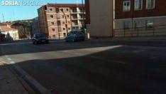 La calle Tirso de Molina, en el trazado de la N-234. /SN