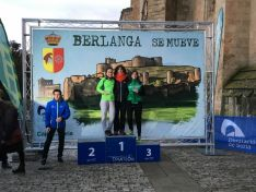 Imágenes de la competición de duatlón de Berlanga. /FedeTriatlonCyl