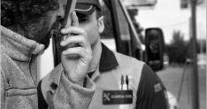 Un control de alcoholemia y drogas de la Guardia Civil./DGT
