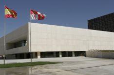 Edificio de las Cortes de Castilla y Léon.
