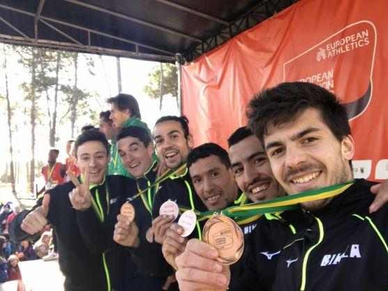 Dani Mateo, campeón de Europa con el Bikila Club Atletismo. Bikila Club Atletismo.