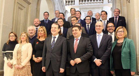 Miembros de la Comisión de Diputaciones de la FEMP.
