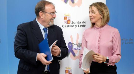 Fernando Rey y Alicia García este viernes en la presentación de la guía.