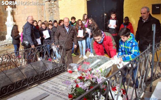 Un homenaje del instituto en El Espino. /SN