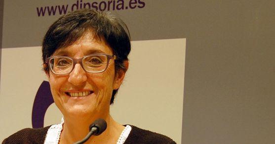 Pilar Delgado, responsable de Servicios Sociales de la Diputación.