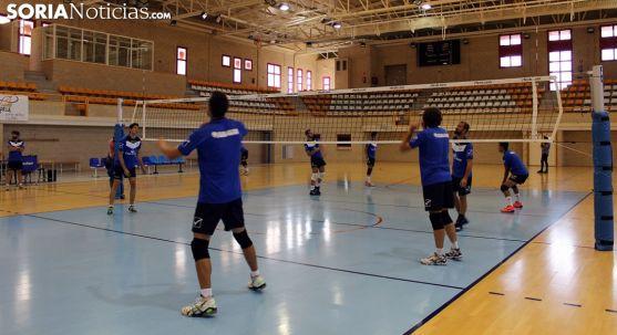 Pabellón de Los Pajaritos, escenario donde se celebrará la Copa del Rey de voleibol. /Bernat Díez.