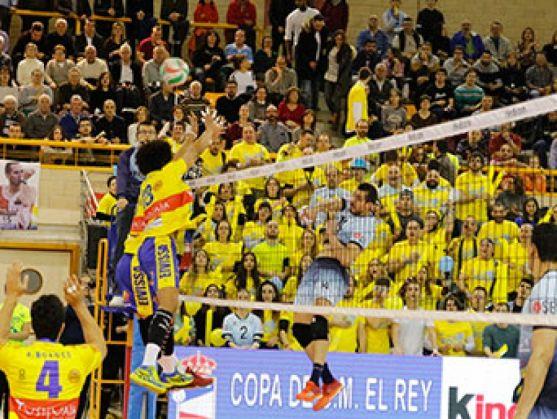 El Río Duero se quedó a las puertas de las semifinales de la Copa del Rey, disputada en Soria. RFEVB