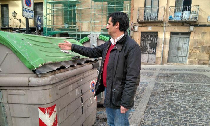 Foto 1 - El PP pide el soterramiento de los contenedores