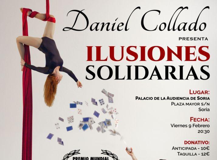 Cartel que ilustra 'Ilusiones solidarias', de Daniel Collado.