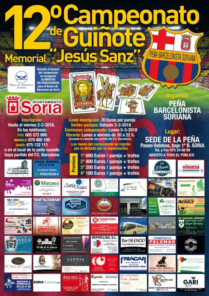 Foto 2 - Memorial Jesús Sanz: Vuelve el guiñote de la Peña Barcelonista