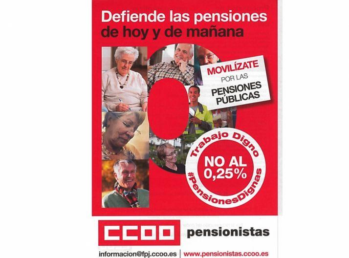 Foto 1 - Este jueves, movilización de CC OO por las pensiones