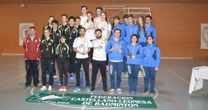 Foto 1 - El Club Bádminton Soria, campeón regional