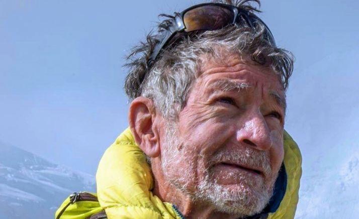 El alpinista Carlos Soria. /AM