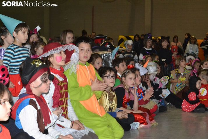 Desfile del domingo de Carnaval, el momento de los niños.