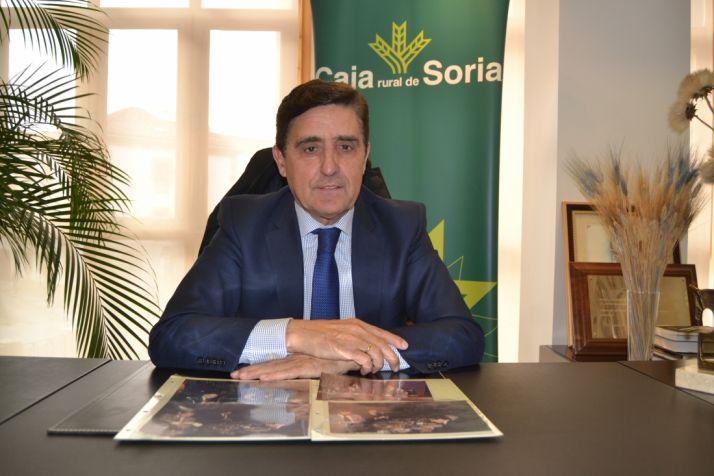 Carlos Martínez, presidente de Caja Rural.