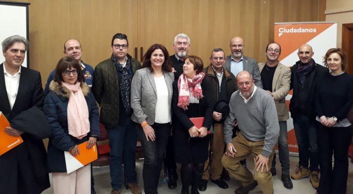 De Lózar (5ºdcha. de pie), junto a sus compañeros en Palencia.