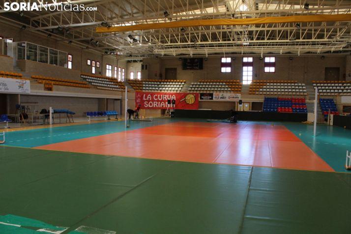 Pabellón Los Pajaritos, escenario donde se celebrará la Copa del Rey de voleibol. Bernat Díez.