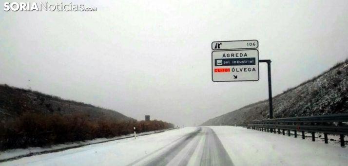 Alerta por nevadas y hielo en las calzadas de las nueve provincias de CyL