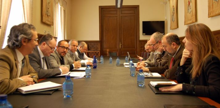 Primera reunión del Patronato este lunes en el Palacio Provincial.