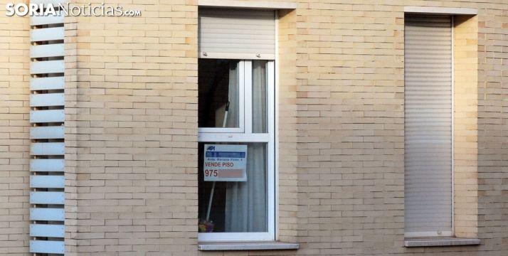 Una vivienda a la venta en la capital. /SN