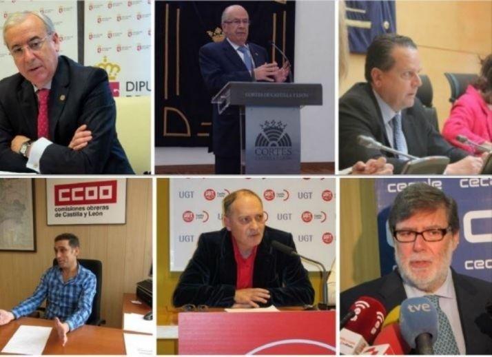 Agentes sociales de Castilla y León valoran la evolución del autogobierno de C-L.