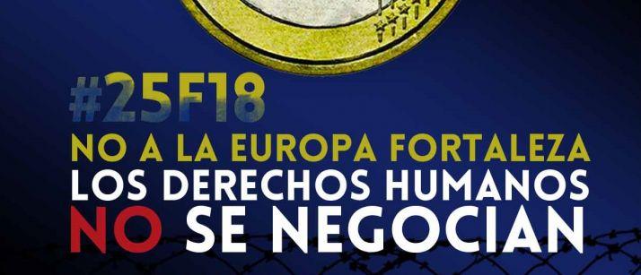 Foto 1 - 'No a la Europa Fortaleza'
