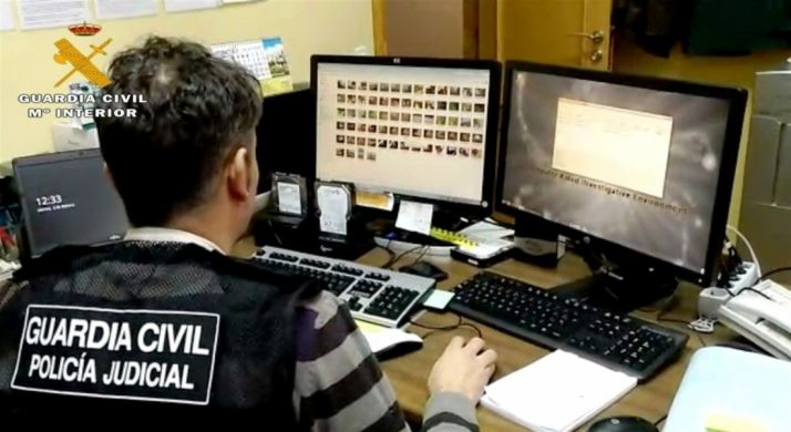Foto 1 - Detenido en Ávila por su presunta participación en un foro de pornografía infantil en Internet