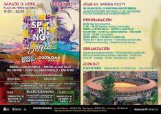'Spring Fest', programación.