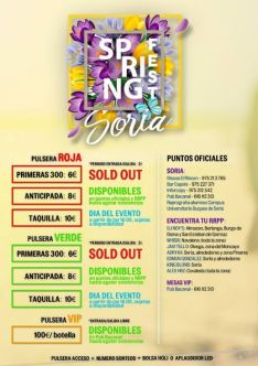 'Spring Fest', información adicional.