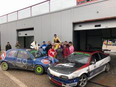 Triunfo automovilístico de Soria en Burgos.