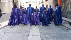 Viernes Santo en Ágreda. Soria Noticias.