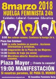 Huelga 8 de marzo. Asamblea Feminista.