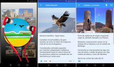 Distintas pantallas de la aplicación.